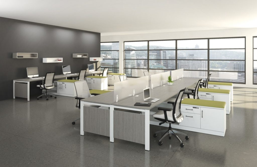 Edgebanding for Modular, flexible Workspaces