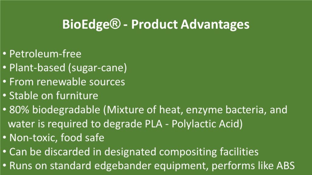 BioEdge - Product Advantages