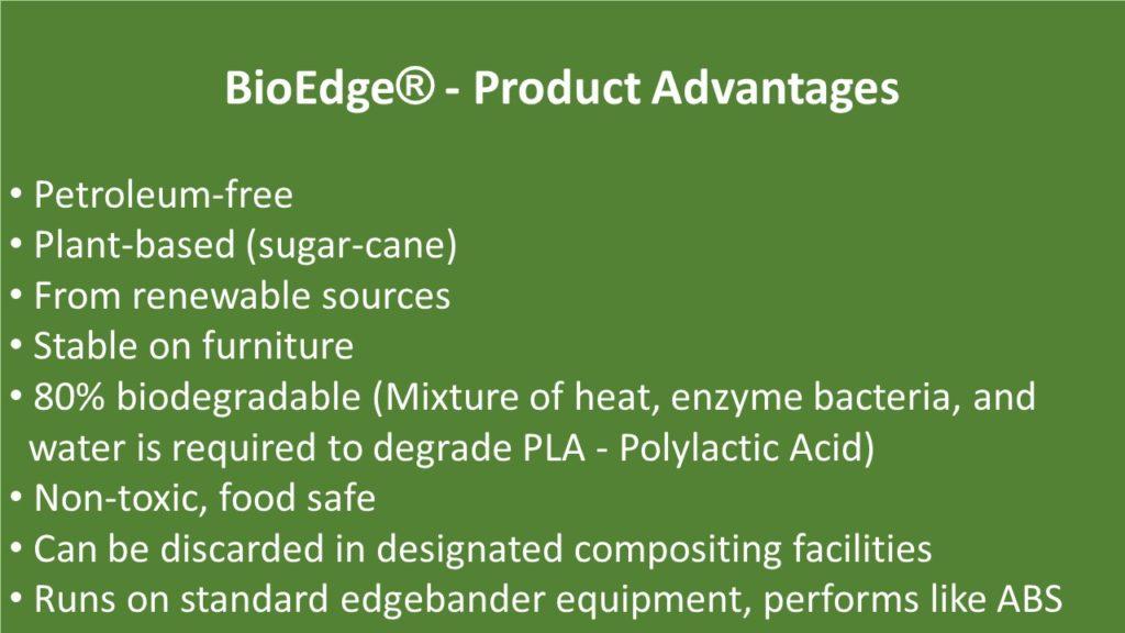 BioEdge - Product Advantages